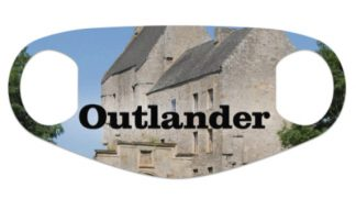 uniqie lallybroch Outlander face mask