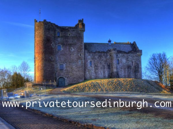 Doune castle visitors, including members, will be required to pre-book tickets online and to use contactless payment where possible;