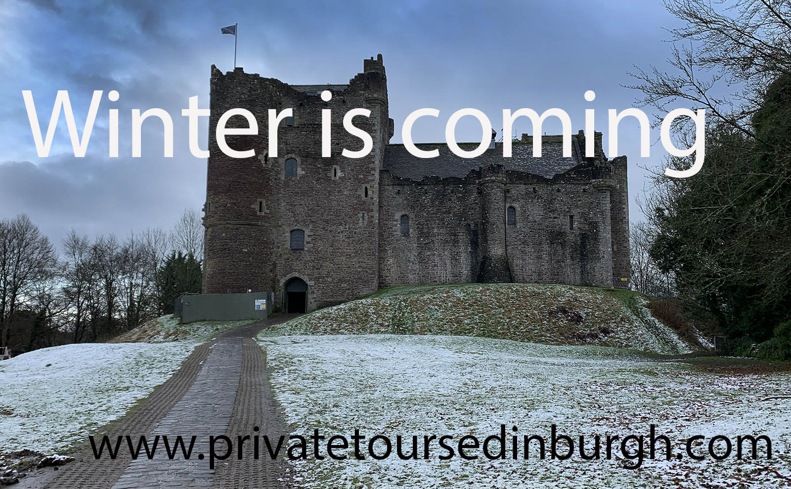 Filming has started on House of Dragon , the Game of Thrones prequel . George R R Martin also suggested that it might revisit countries that served as filming locations for Game of Thrones, including Scotland, Ireland , Iceland , Morocco, Malta and Spain. Our Game of Thrones tours to Doune Castle / Winterfell now run three times daily , at 10 am , 11 am and 12 pm . New tour – Craigh na Dun tour featuring Lallybroch , Craigh na Dun and Castle Leoch ( Doune Castle ) . NEWS – Doune Castle , in Game of Thrones and Castle Leoch in Outlander is now open. Phone +44 131 549 9785 / +44+7305-294773 for more details and bookings or contact us online .