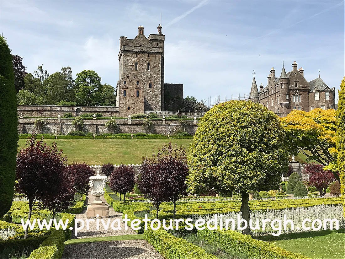 Drummond castle Gardens tours