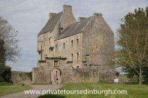 Lallybroch ( Midhope Castle) Outlander tours,
